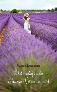 Cover Het meisje in het Paarse Bloemenveld- Martine Lambrechts