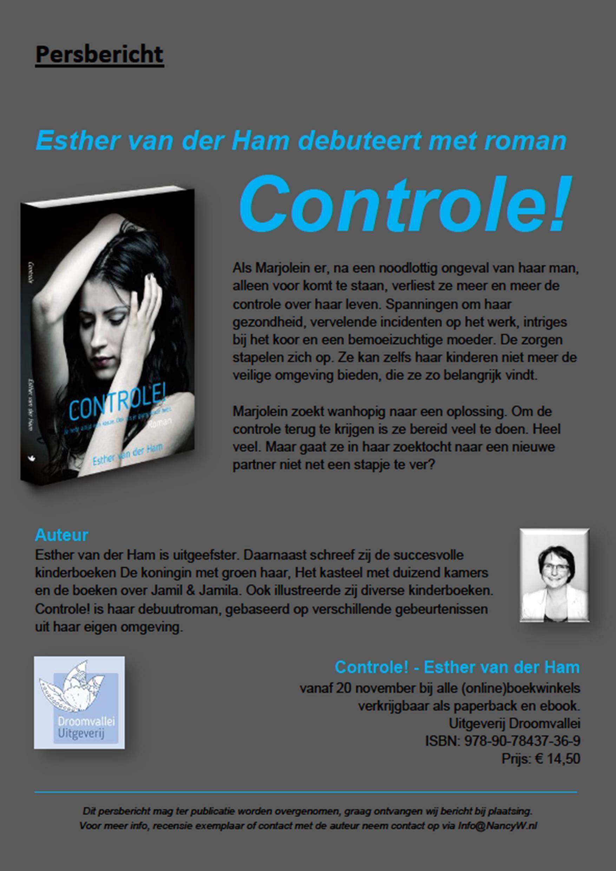 persbericht-controle-esther-van-der-ham