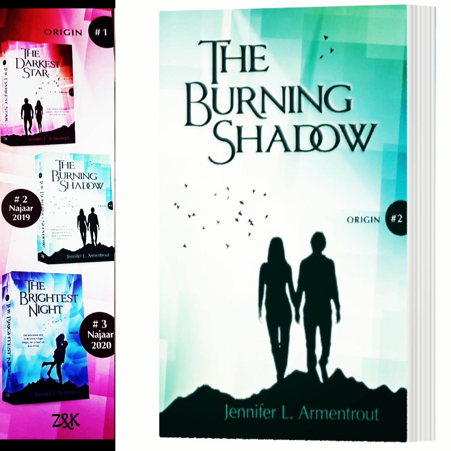 Origin Serie 2 The Burning Shadow Jennifer L Armentrout Bezeten Boeken Hét Online Magazine Voor Boekenfans En Leesfanaten